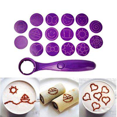Electrical Magic Spice Spoon Baking Pastry Tool Mold