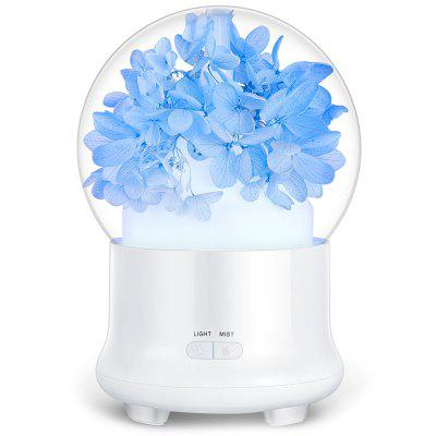 USB Portable Humidification Function Air Purifier - Blue Gypsophila/Pink Flower/Green Grass/Blue Everlasting Flower