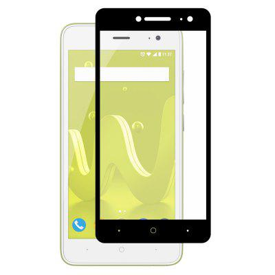 Hat - princ 0.26mm 9H 2.5D Full Coverage Tvrdené sklo Screen Protector pre Wiko Jerry 2