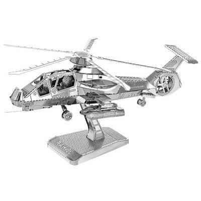 Criativo Metal 3D Helicopter Jigsaw Puzzle