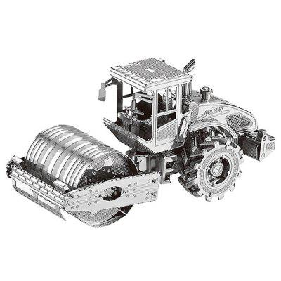 Creative Metal 3D Road Roller Jigsaw Puzzle