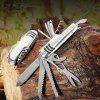 Outdoor Mini Multifunction Folding Knife - SILVER