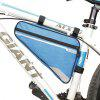 B - Borsa da sella SOUL Bicycle Triangle Bike - CELESTE CHIARO
