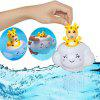 Baño lindo Nube de lluvia Deer Baby Wit Shower Toy 1pc - AMARILLO BRILLANTE