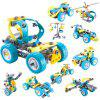 Electric Motor Building Block Toy for Children - MULTI-A