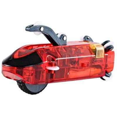 Speed Pipes Car Toy Pack Race Track Remote Control Flash Light RC Tube Racing
