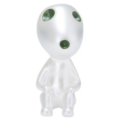 Cute Luminous Big Head Model Toy for Decoration Gift