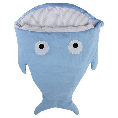Children's Pure Cotton Shark Sleeping Bag