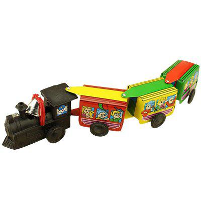 Nostalgic Toy Clockwork Iron Train