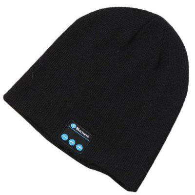 Bluetooth Music Beanie Hat with Stereo Headphone Speaker Wireless Microphone