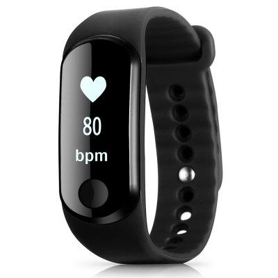 GearBest Coupon: $9.99 Only for Alfawise Mini 3 Smart Bracelet - BLACK