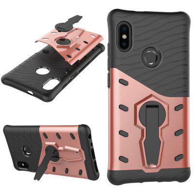 Luanke Heavy Duty Protective Hybrid Armor Series Case Cover for Xiaomi Mi A2 / 6X