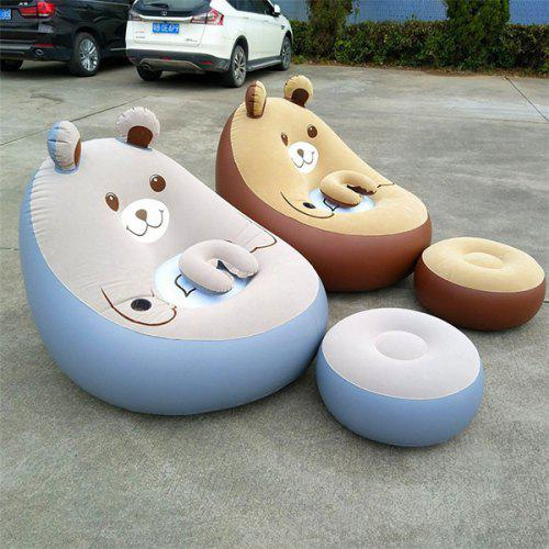 Superb Leisure Household Double Mattress Inflatable Sofa Bed Caraccident5 Cool Chair Designs And Ideas Caraccident5Info