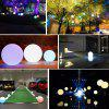 Outdoor Solar Ball-shaped Decor Light - MULTI