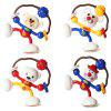 Funny Rattling Sucker Animal Twisting Toy para bebé 1pc - AMARILLO BRILLANTE