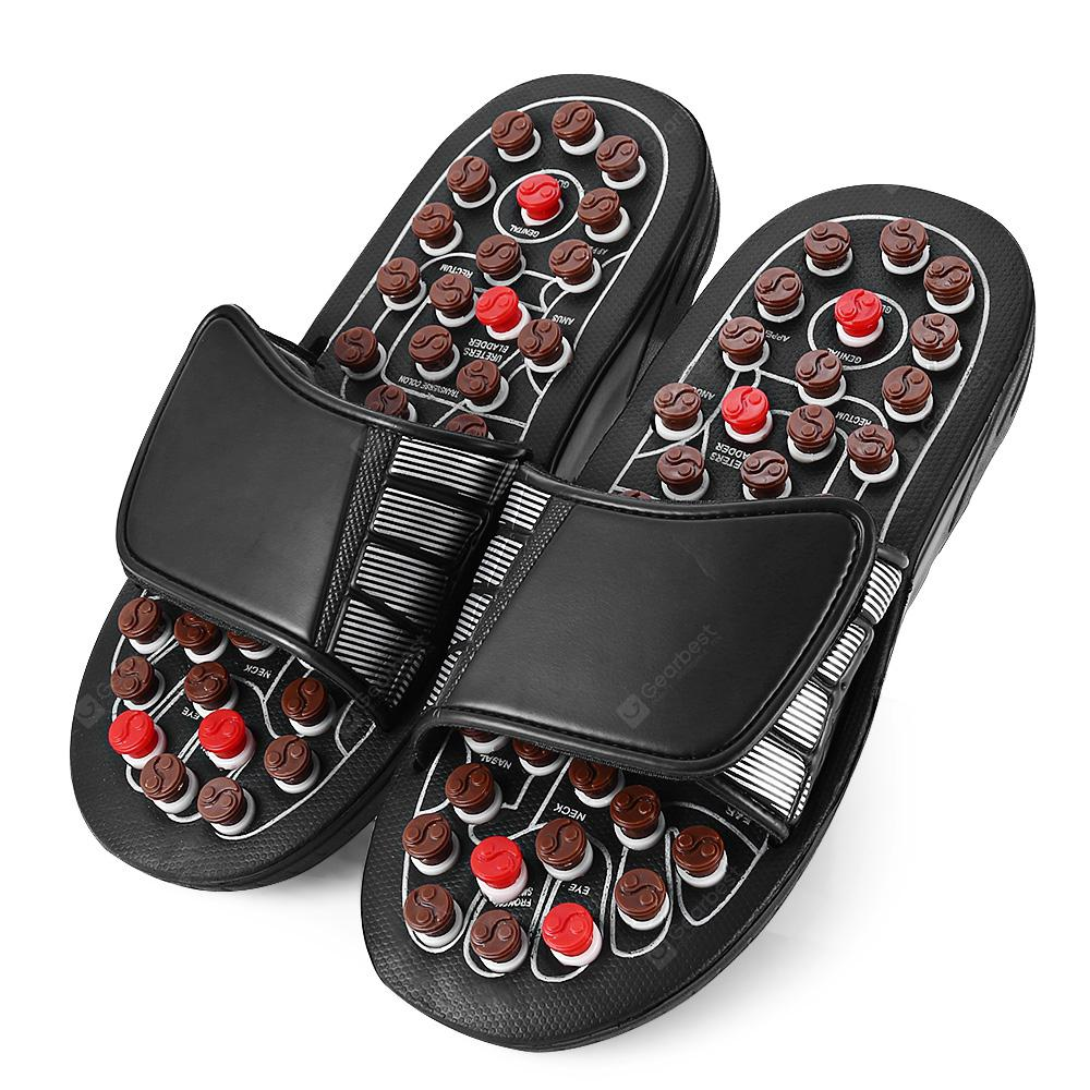 Foot Massage Slippers Rotating Acupuncture Points Therapy