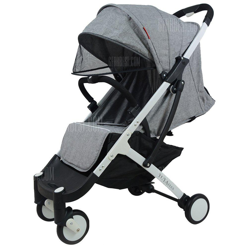 YOYAplus A09 Stroller Baby Foldable - GRAY CLOUD