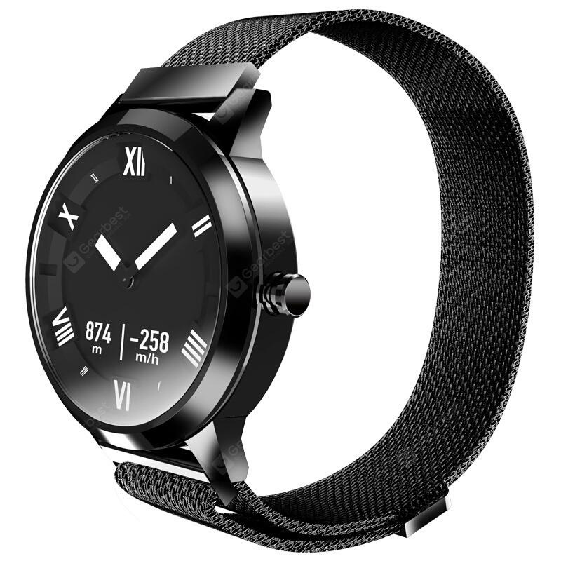 Lenovo Watch X Plus Bluetooth Waterproof Smartwatch - BLACK