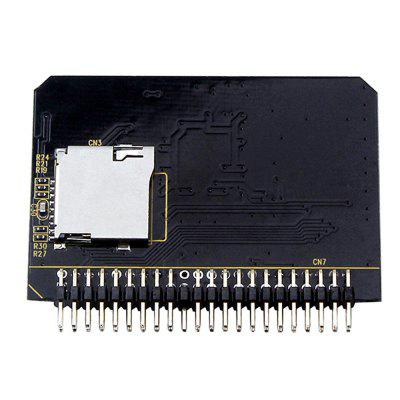 Micro SD a 44 Pin IDE Converter Reader Tarjeta TF a IDE Adapter