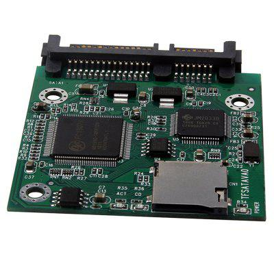 SINTECHI001 Micro SD to SATA Adapter Reader TF Card to IDE Converter