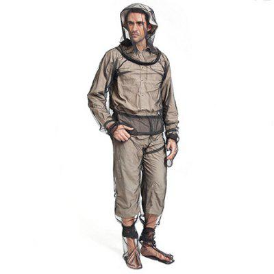 Unisex perspectiva Mosquito Protection Four-Piece Suit