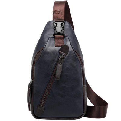 Homens Casual Outdoor Diagonal Chest Bag