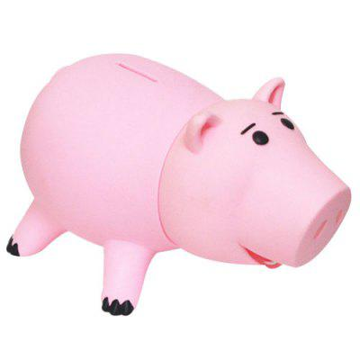 Cute Pink Pig Birthday Gift Coin Bank for Decor