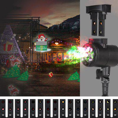 Blinblin CPF - LM401 Auto Rotating LED Projection Light