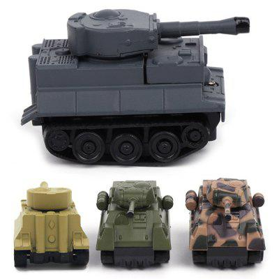 Cartoon Magic Puzzle Inductive Tank Toy