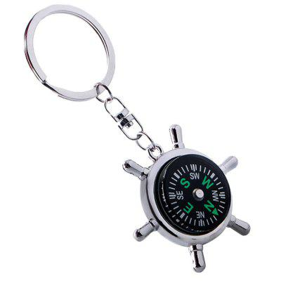 Creative Compass Pattern Keychain for Key