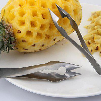 Stainless Steel Pineapple Eye Peeler 6PCS