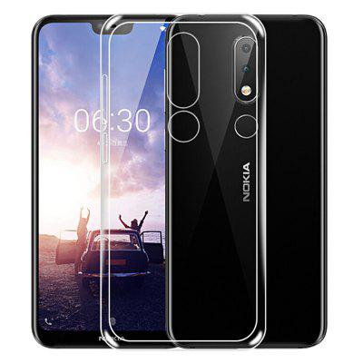 Naxtop TPU Ultra-thin Soft Transparent Case for Nokia 6.1 Plus/X6