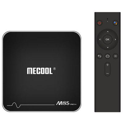 MECOOL M8S PRO+ Android TV OS TV Box with Voice Remote Control