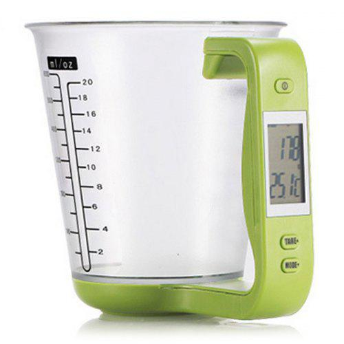 Digital Kitchen Scale Measuring Cup