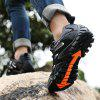 Men Stylish Outdoor Durable Anti-slip Sports Sneakers - BLACK
