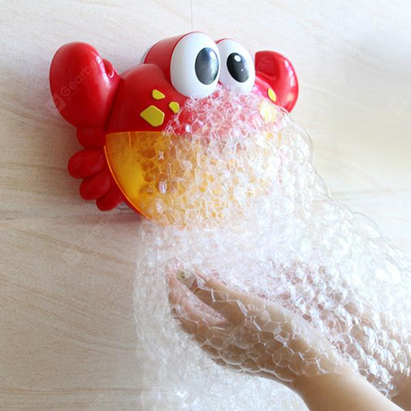 Crab Music Bubble-blowing Bathing Machine for Kids