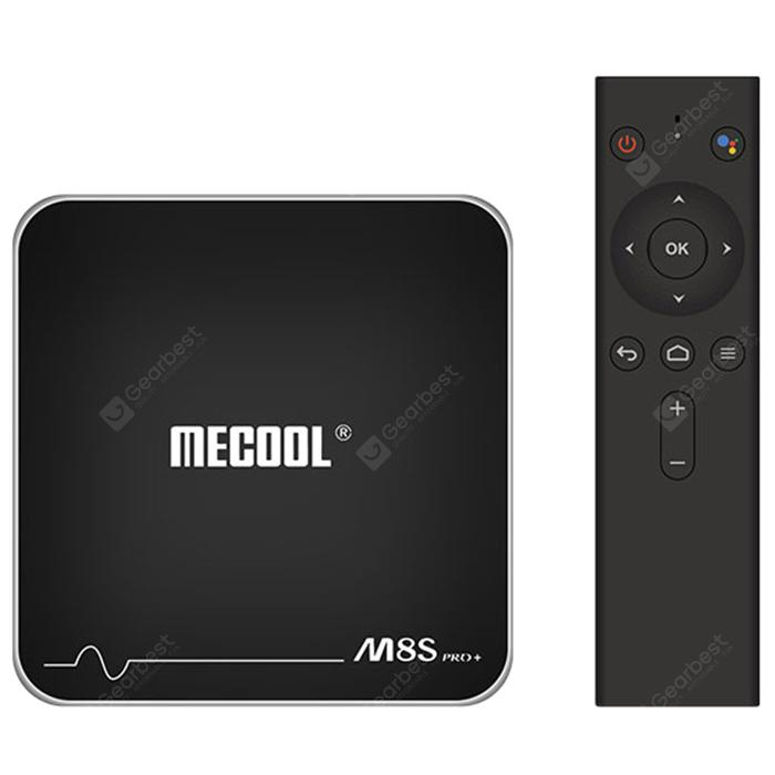 MECOOL M8S PRO+ TV Box with Voice Remote Control
