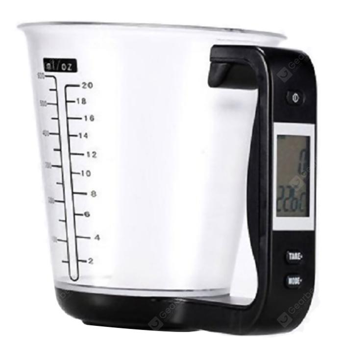 Digital Kitchen Scale Measuring Cup - HITAM