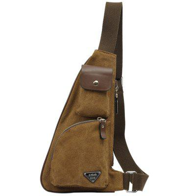 AUGUR Homens Casual Outdoor Chest Bag