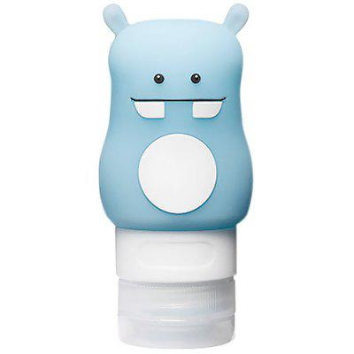Tuban 50ml Cute Silicone Travel Size Container for Shampoo and Lotion
