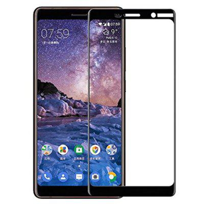 Naxtop Full Tempered Glass Screen Protector for Nokia 7 Plus