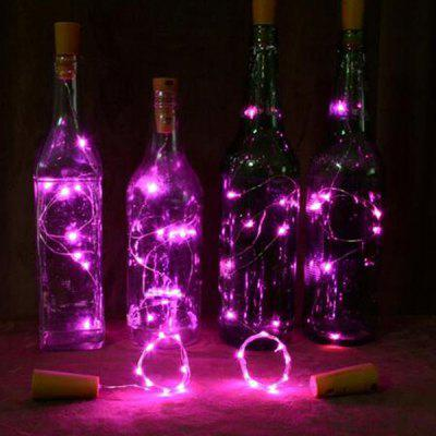 YWXLight Solar Power Light String Wine Bottle Lamp 4pcs