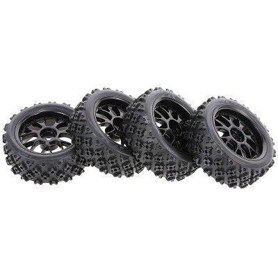 On-road Tyre with Star Tread Pattern 4pcs