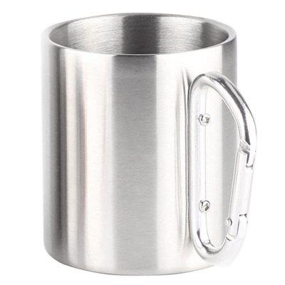 Double Layer Stainless Steel Mug