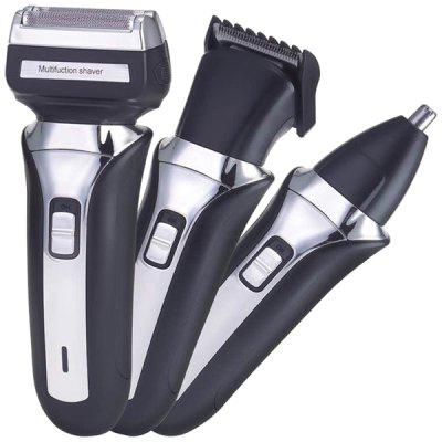 3-in-1 Multi-function Portable Rechargeable Electric Shaver Hair Clipper