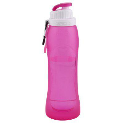 Tuban Foldable Silicone Water Bottle for Travel, Camping, Hiking