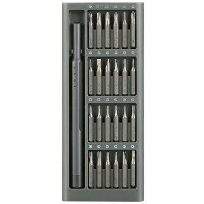 Gearbest gocomma 24 in 1 Precision Screwdriver Set - CARBON GRAY for Mobile Phone Repairing