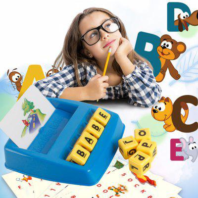 Funny Matching Letter Educational Puzzle Toy