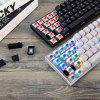 MOTOSPEED CK62 Bluetooth Wired Mechanical Keyboard with RGB Backlight - BLACK