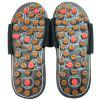 Point d'acupuncture Massage Foot Shoes for Men - BRUN OURS